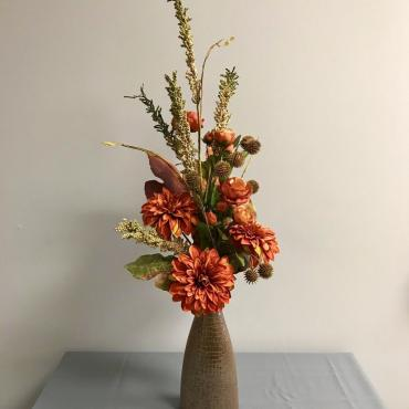Forever Thankful Fall Vase Arrangement
