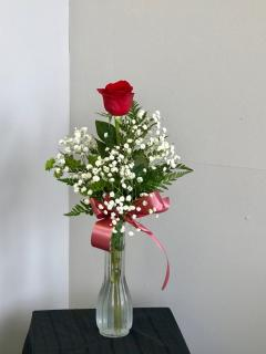 Single Rose Budvase