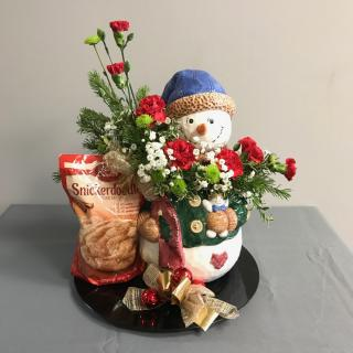 Christmas Cookie Jar Arrangement 1
