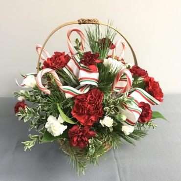 Candy Cane Arrangement